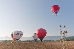 International Balloon Festival Montgolfeerie Stock Images