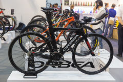 International Bangkok Bike 2017. Largest Cycling Bike Expo in Thailand,Trend of Cycling Popular and Bike for Dad Asia is new large Royalty Free Stock Photography