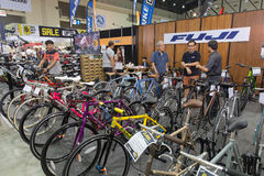 International Bangkok Bike 2017. Largest Cycling Bike Expo in Thailand,Trend of Cycling Popular and Bike for Dad Asia is new large Stock Photos