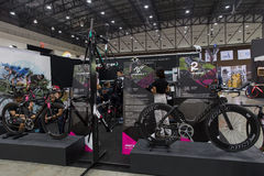International Bangkok Bike 2017. Largest Cycling Bike Expo in Thailand,Trend of Cycling Popular and Bike for Dad Asia is new large Stock Photo