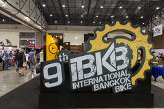 International Bangkok Bike 2017. Largest Cycling Bike Expo in Thailand,Trend of Cycling Popular and Bike for Dad Asia is new large Stock Images