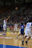 International Basketball, Greece vs Serbia, Stock Photography