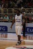 International Basketball, Greece vs Serbia, Royalty Free Stock Images