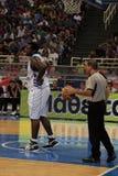 International Basketball, Greece vs Serbia, Royalty Free Stock Image