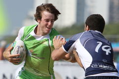 International Beach Rugby Tournament Stock Images
