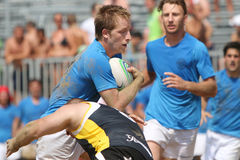 International Beach Rugby Tournament Royalty Free Stock Photography
