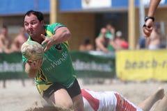 International Beach Rugby Tournament Stock Photos