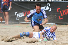 International Beach Rugby Tournament Stock Photos