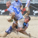 International Beach Rugby Tournament Stock Photography