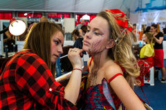International Beauty Industry Competition Royal Beauty Carpathia Stock Images