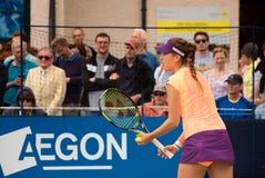 International Belinda Bencics im Jahre 2014 Aegon (Eastbourne-Tennis Turnier) Stockfotos