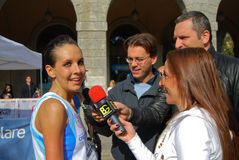 International Bergamo marathon Royalty Free Stock Image