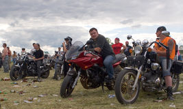 International bikers festival Royalty Free Stock Photography