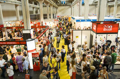 International Book Fair 2012 - Turin Stock Photos