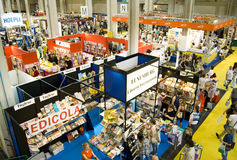 International Book Fair 2012 - Turin Stock Image