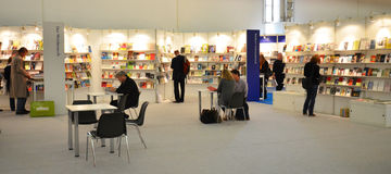 International Book Fair, Frankfurt 2011 Stock Photography