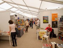 International bookfest in Sibiu, Romania Royalty Free Stock Photography