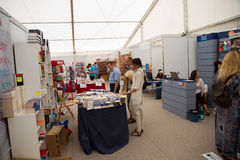 International bookfest in Sibiu, Romania Stock Images