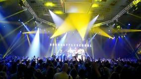 International break-dance show Burn Battle School 2014, Royalty Free Stock Image