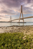 International bridge over the River Guadiana, Ayamonte, Spain Stock Image