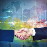 International business agreement Stock Photography