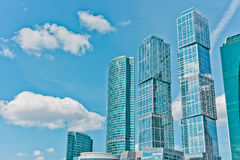 International Business Center. In Moscow, Russia, East Europe royalty free stock photos