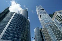 International Business Center (City) closeup, Mosc Stock Images