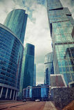 International business center Moscow-city Stock Photography
