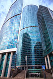 International business center Moscow-city Stock Photo