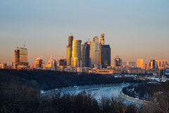 International Business Center Moscow-City Stock Images