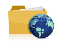 International business concept illustration Royalty Free Stock Image