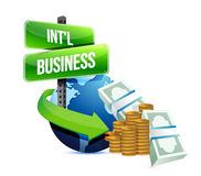 International business concept Stock Photos