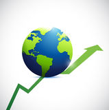 International business concept illustration design Stock Photo