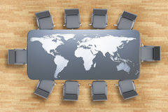 International business concept Stock Photos