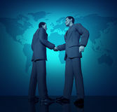 International business deal Royalty Free Stock Photography