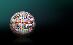 International Business Globe Stock Image