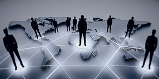 International business and partnership concept Stock Images