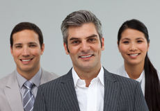 International business people standing together Royalty Free Stock Image