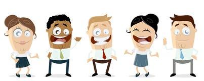 International business team Royalty Free Stock Image