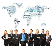 International business team with lawyers Royalty Free Stock Photos