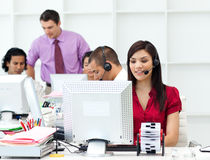 International business team working Royalty Free Stock Photography