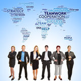 International business teamwork cooperation Royalty Free Stock Photography