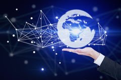 International business and technologies concept Stock Photos