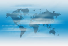 International Business Technology. Background Design Stock Images