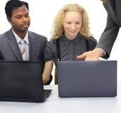 Of international businessmen. Stock Images