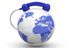 International Call - 3D Royalty Free Stock Images