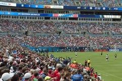 International Champions Cup. An image of the International Champions Cup FC INTERNAZIONALE versus FC BAYERN MUNICH in Charlotte, North Carolina Stock Photography