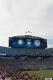 International Champions Cup. An image of the International Champions Cup FC INTERNAZIONALE versus FC BAYERN MUNICH in Charlotte, North Carolina Stock Image