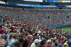 International Champions Cup. An image of the International Champions Cup FC INTERNAZIONALE versus FC BAYERN MUNICH in Charlotte, North Carolina Stock Images