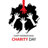 International Charity Day Royalty Free Stock Photos